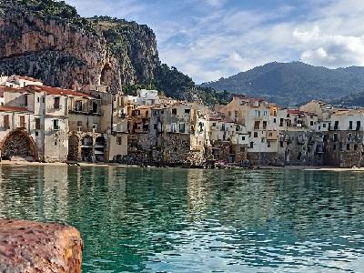L'enchantement de la Sicile - Anna de Noailles Cefalu%20-%20400